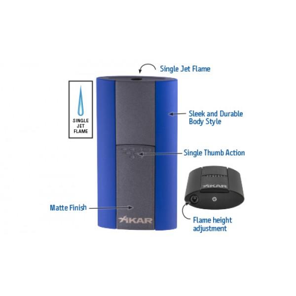 XIKAR Flash Single Jet Flame Lighter
